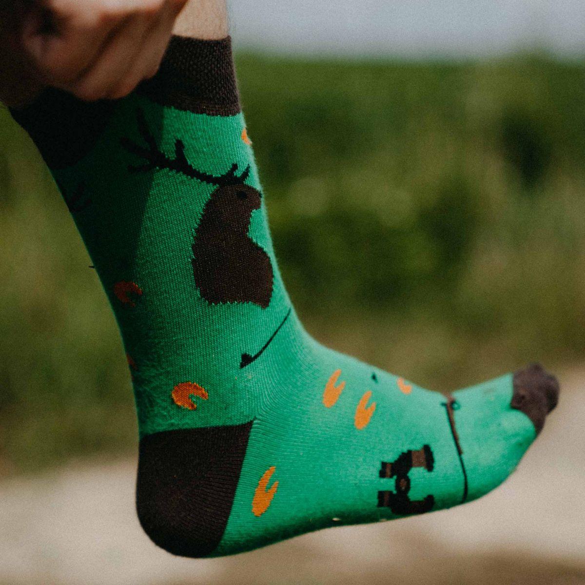 Ponožky - Poľovník p2