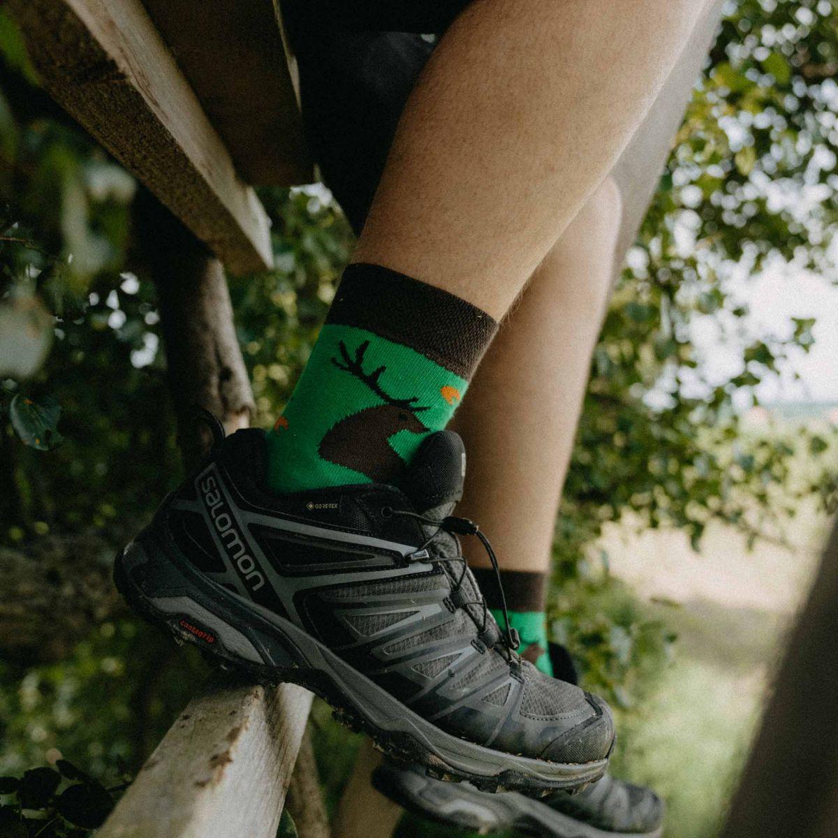 Ponožky - Poľovník p3