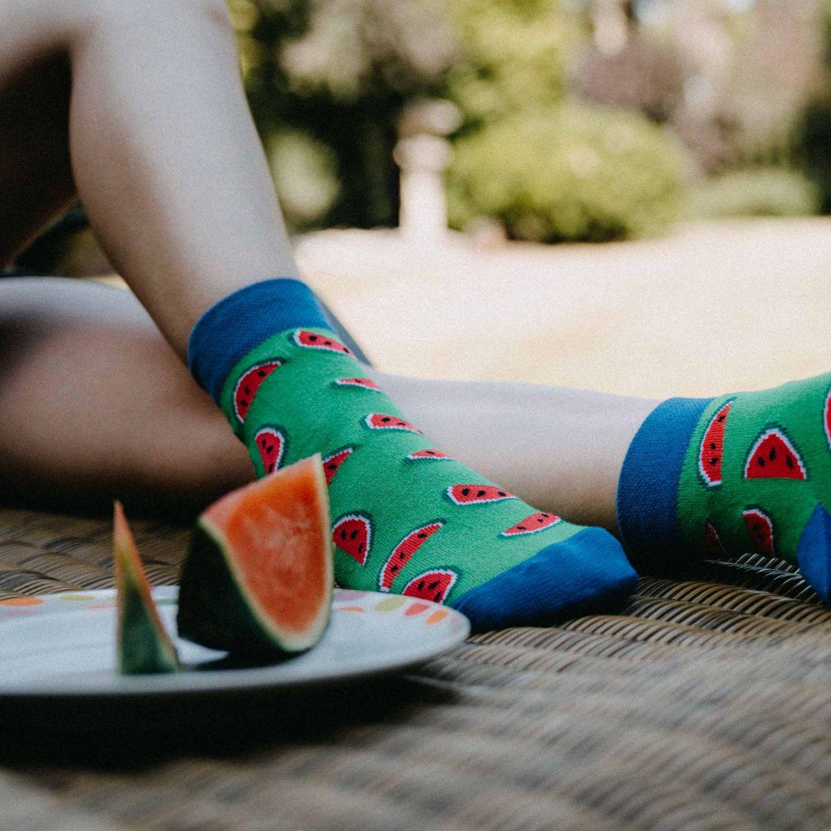 Ponožky - Melón p4