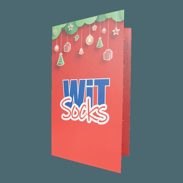 Kalendář - 12 párů ponožek - dámský p6