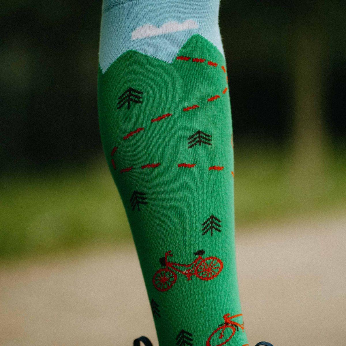 Șosete pentru genunchi - Bicicleta p4