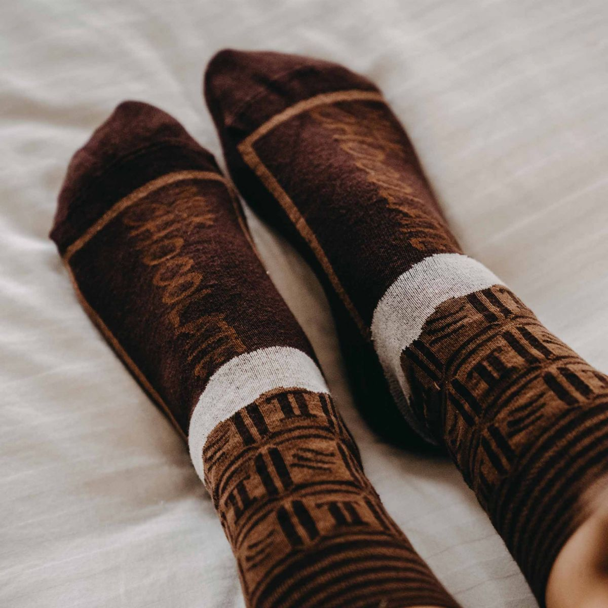 Ponožky - Čokoláda v dárkové krabičce p4