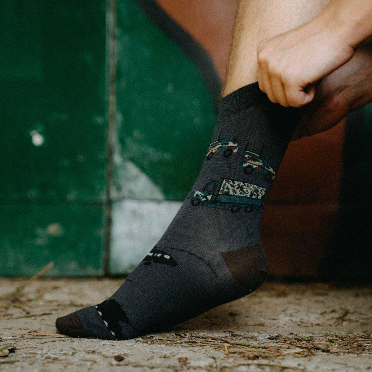 Ponožky - Army p3