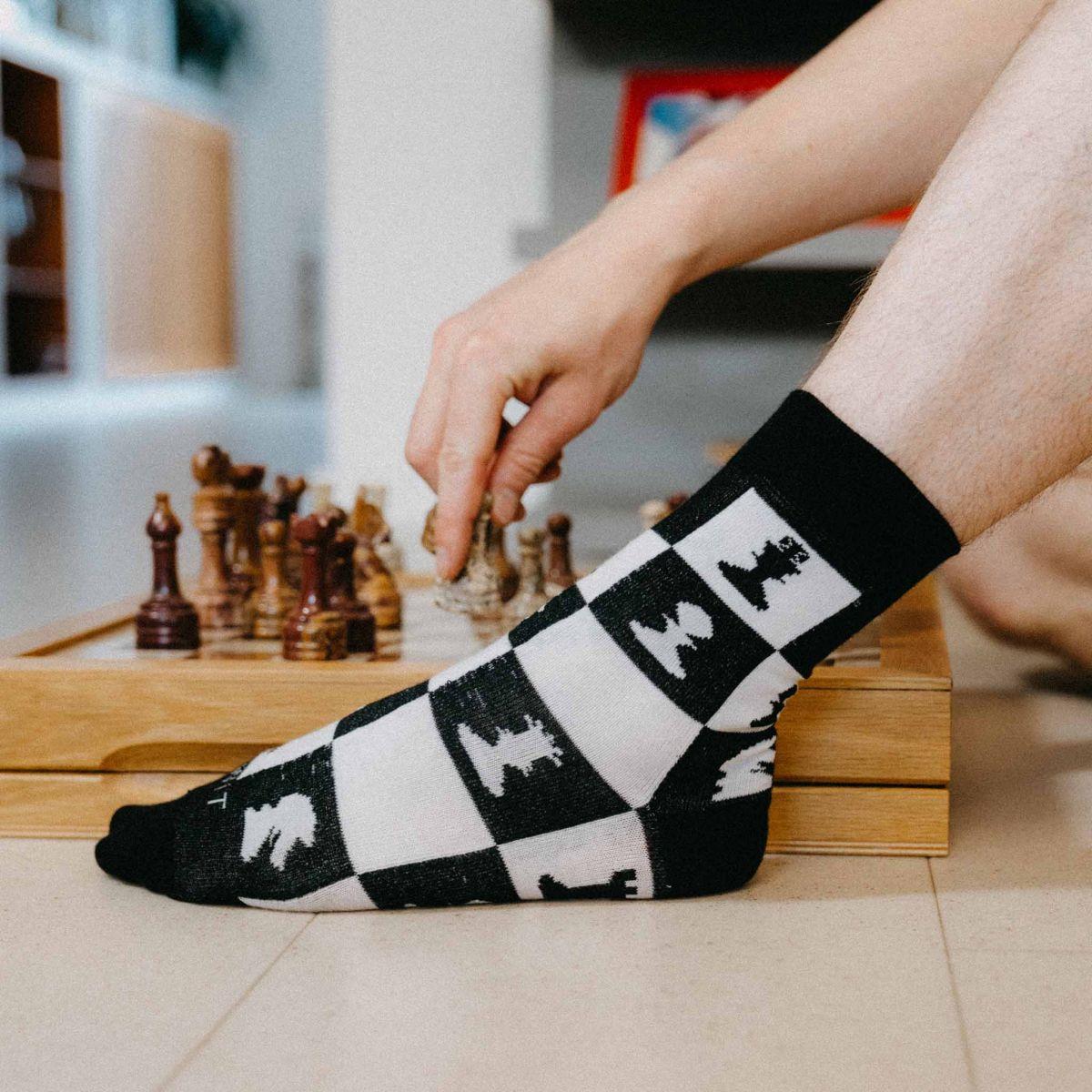 Ponožky - Šach p4