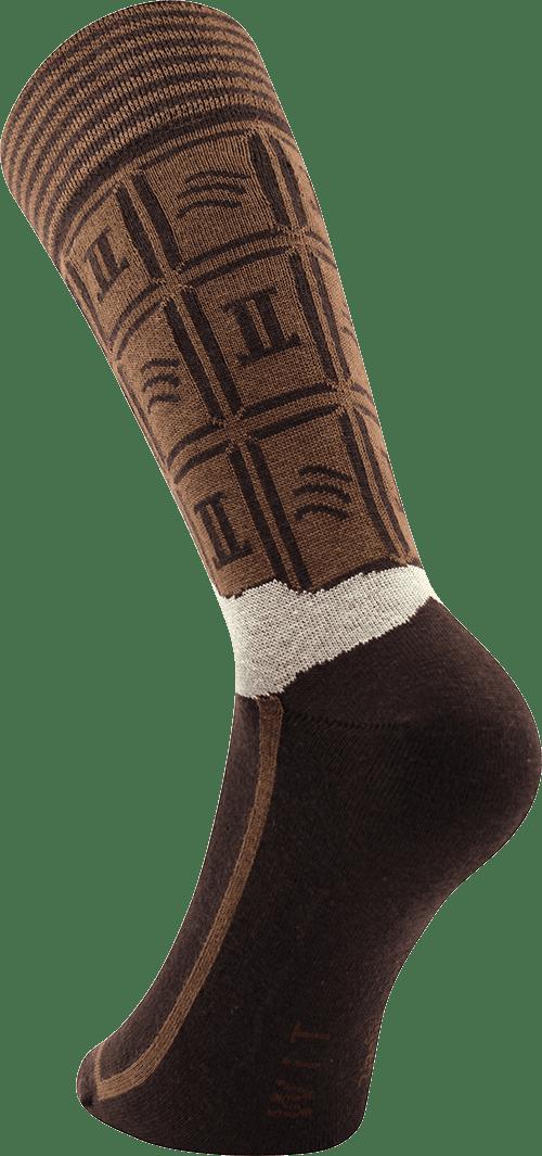 Ponožky - Čokoláda v dárkové krabičce p6
