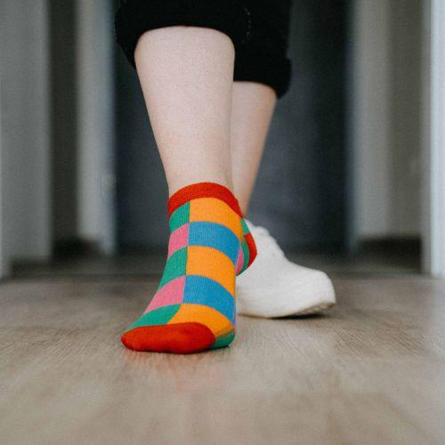 Ponožky - Barevné nízké p4