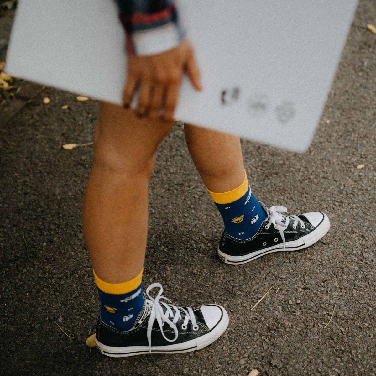 Ponožky - Doručovateľ p3