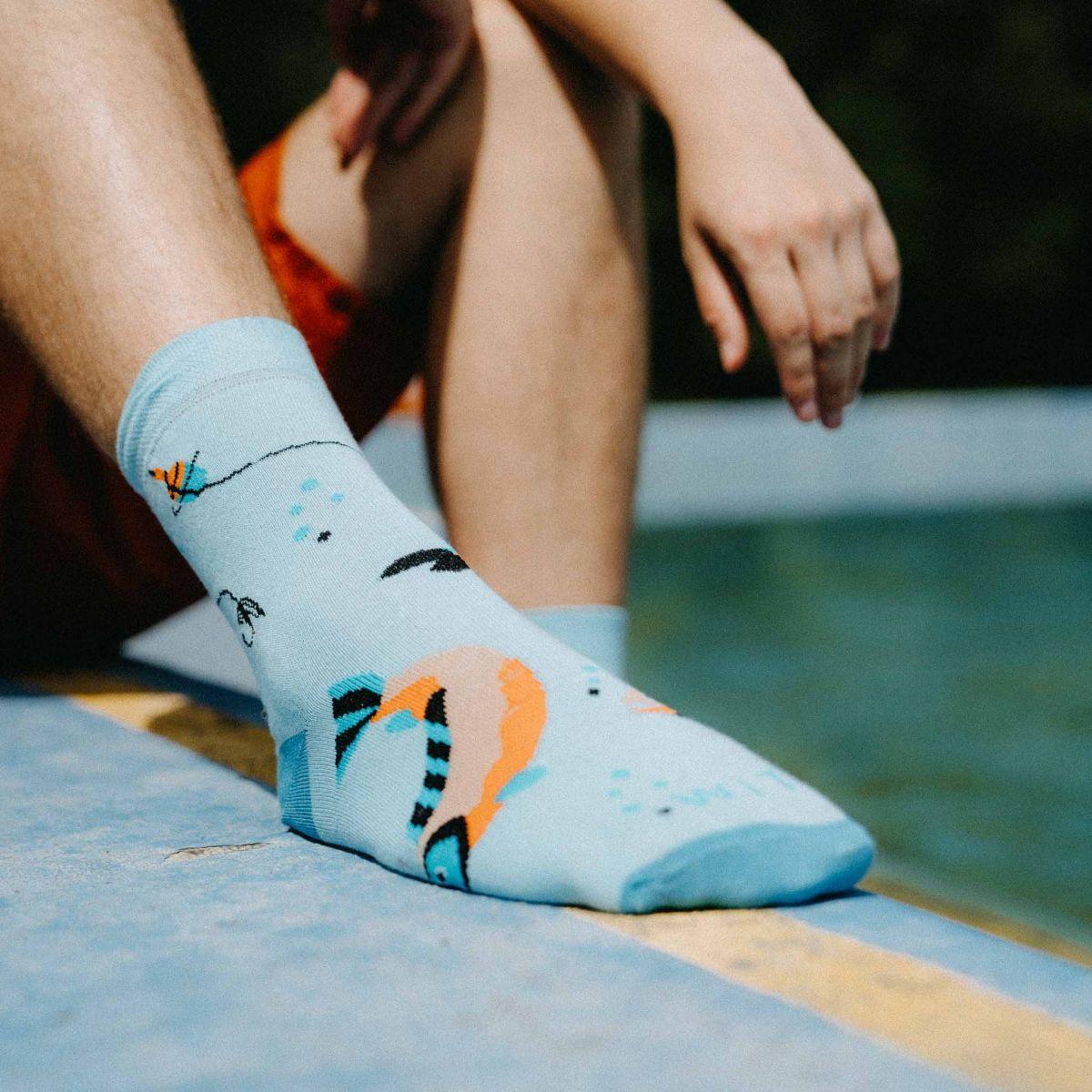 Socken - Fisch p3