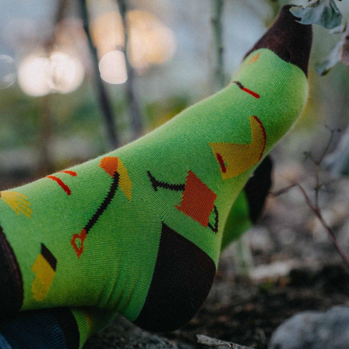 Ponožky - Záhradkár p2