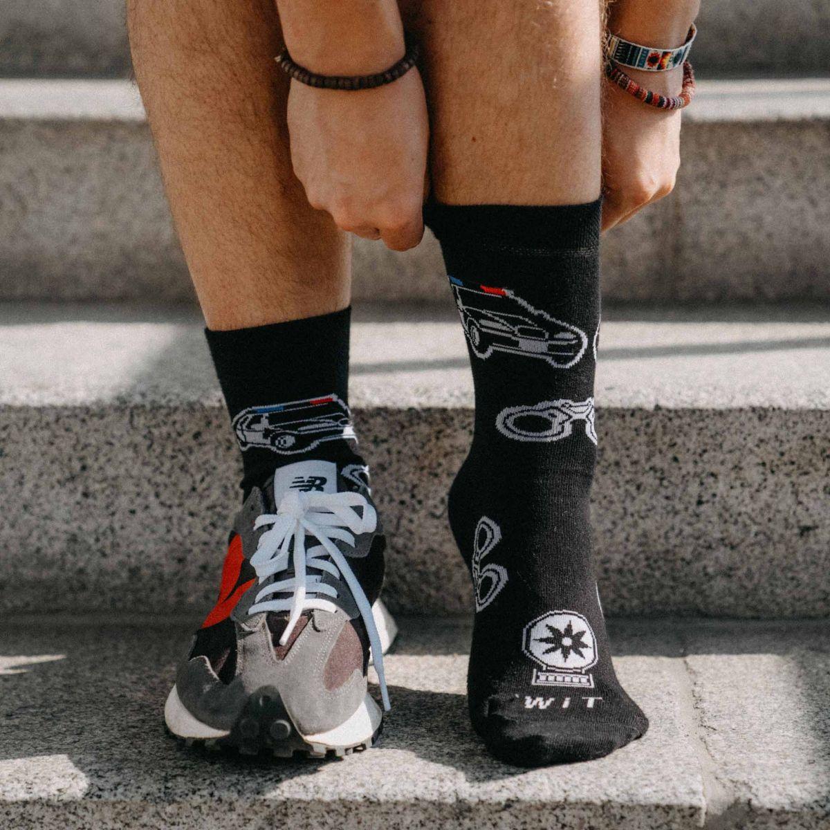 Socken - Polizei p3