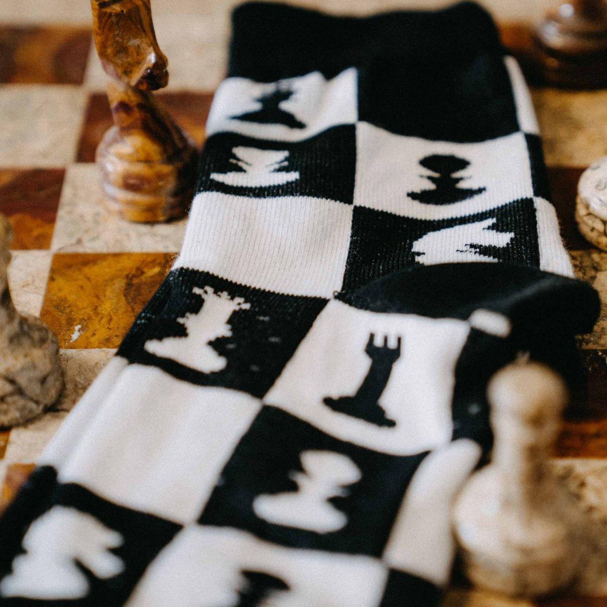 Ponožky - Šach p5