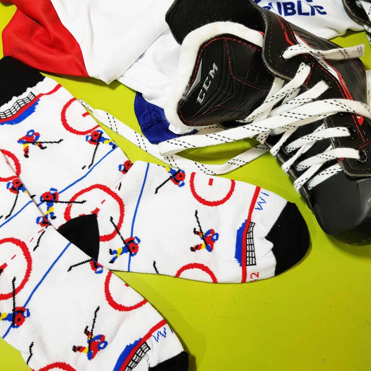 Ponožky - Hokej p1