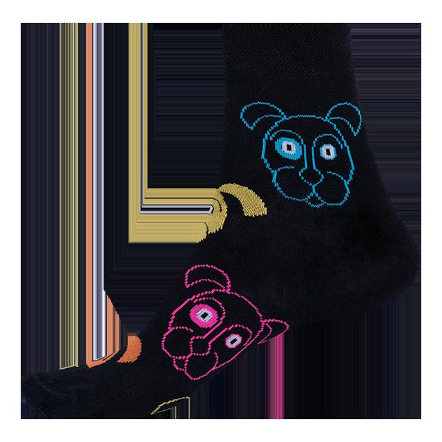 Socken - Hund - schwarz