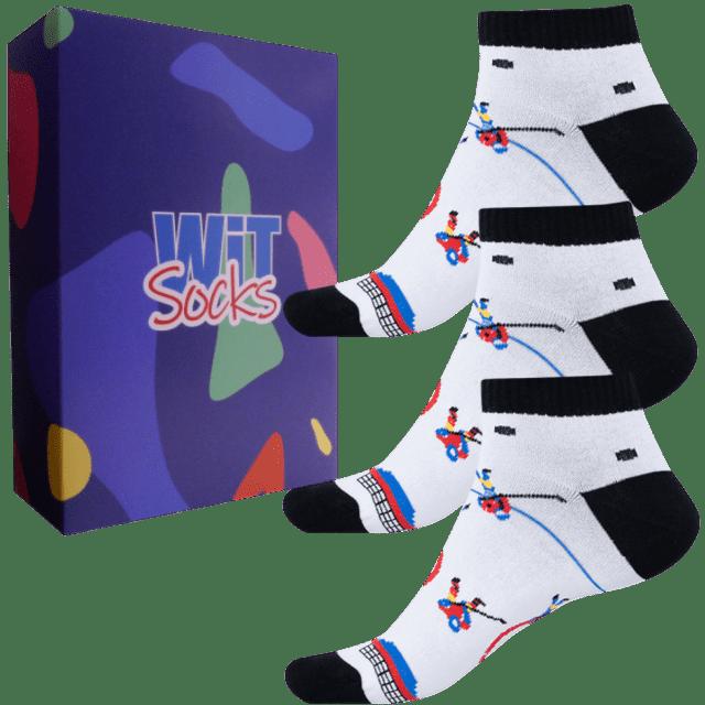 Darčekový set - Ponožky - Hokej nízke