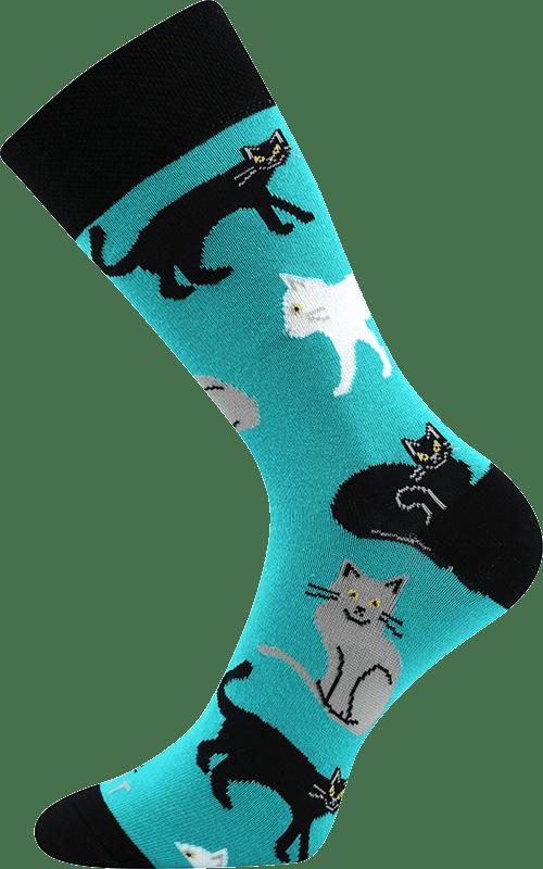 Socken - Katzen - Minze main