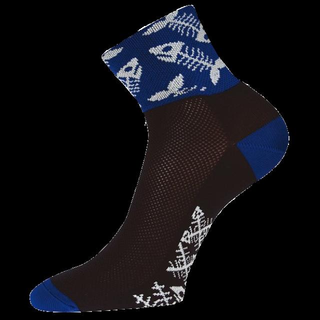 Ponožky - Ryby černé