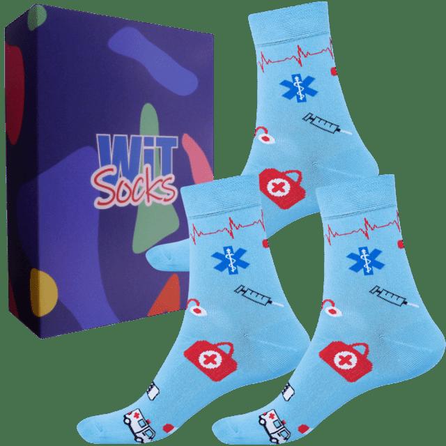 Dárkový set - Povolání - Zdravotnictví modré