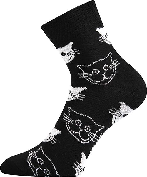 Socken - Katzen - schwarz