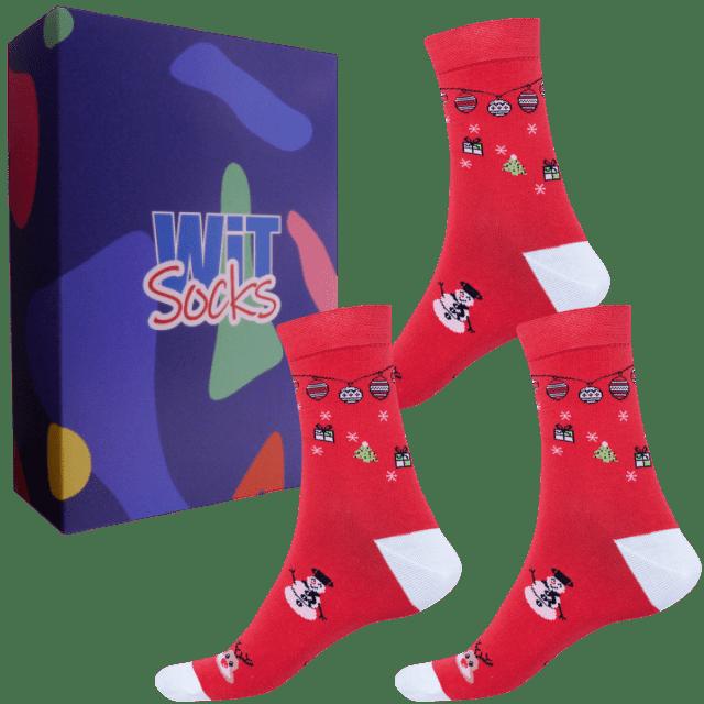 Dárkový set - Ponožky Vánoce