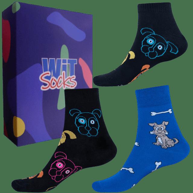 Dárkový set - Ponožky Psi mix