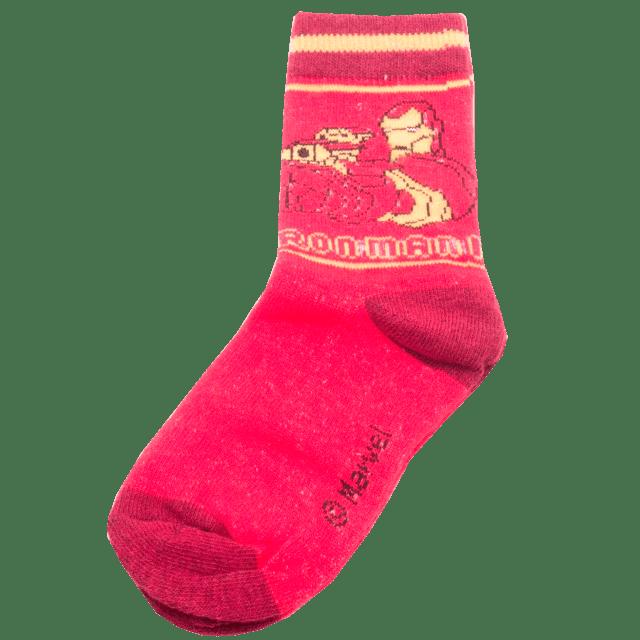 Dětské ponožky Avengers červené