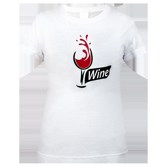 Dámské tričko Víno main