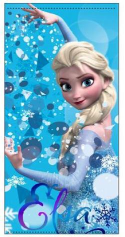 Osuška Frozen - modrá ER4353
