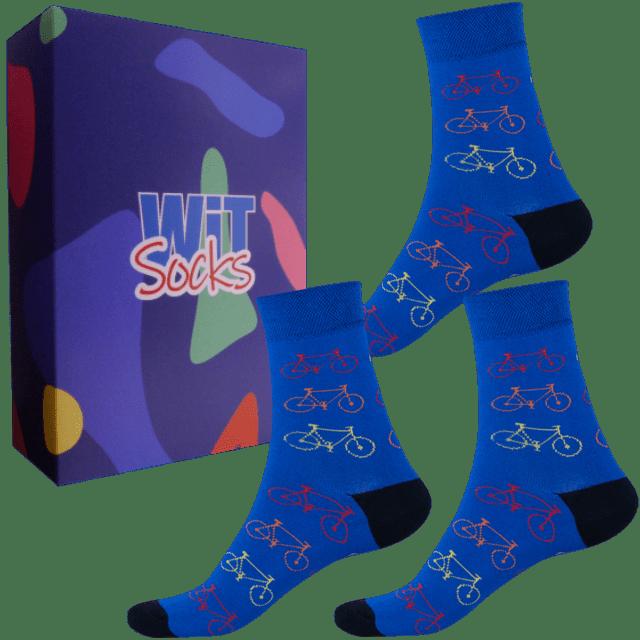 Dárkový set - Sporty - Kolo modré