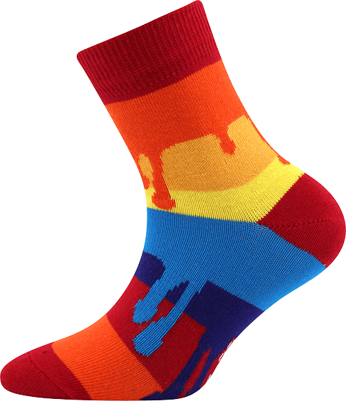 Dětské ponožky Barvy