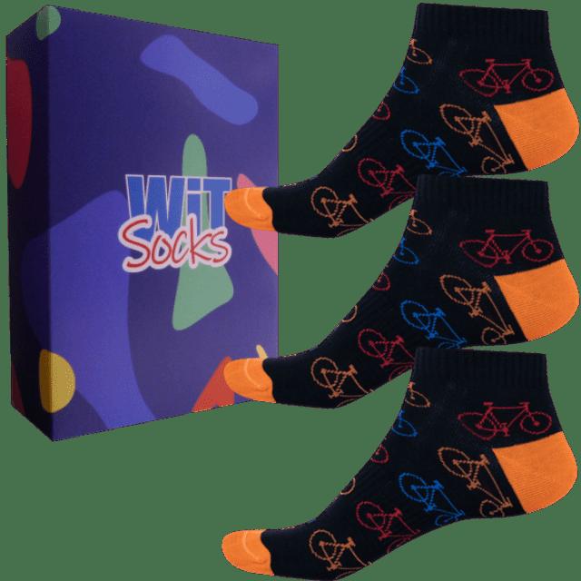 Darčekový set - Ponožky - Bicykel 12 - nízke