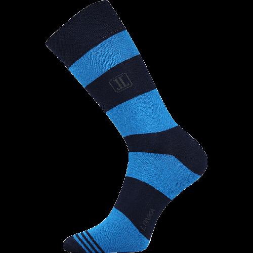 Skarpetki - Paski - niebieskie