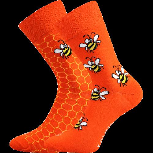 Socken - Biene