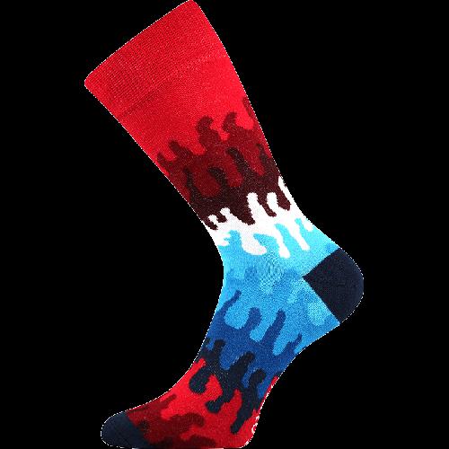 Socken - Wellen