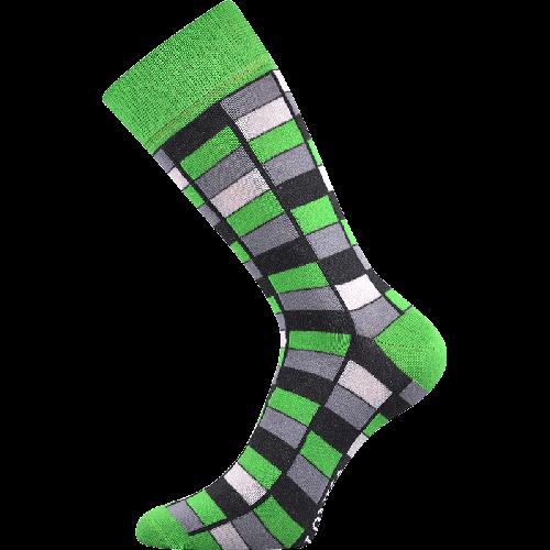 Skarpetki - Mozaika - zielone