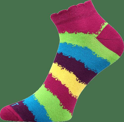 Ponožky - Pruhy nízké main