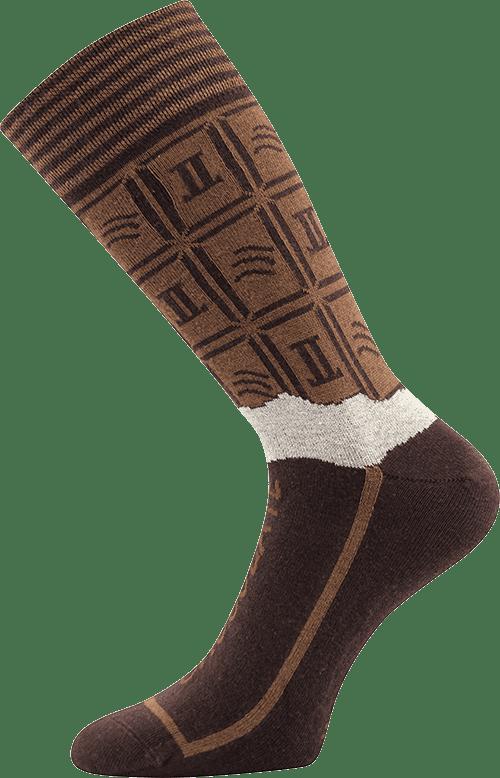 Ponožky - Čokoláda v dárkové krabičce main