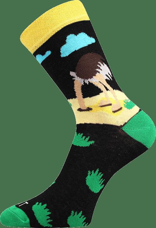 Ponožky - Pštros main