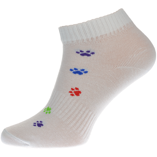 Ponožky - Tlapka barevná nízké