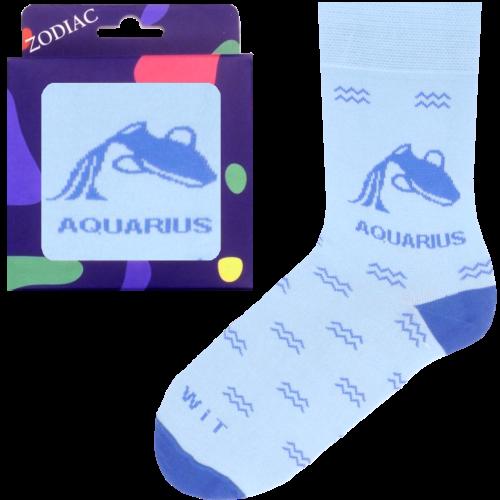 Ponožky - Zodiac - Vodnár