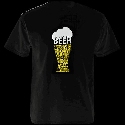 Tričko - Pivo - čierne
