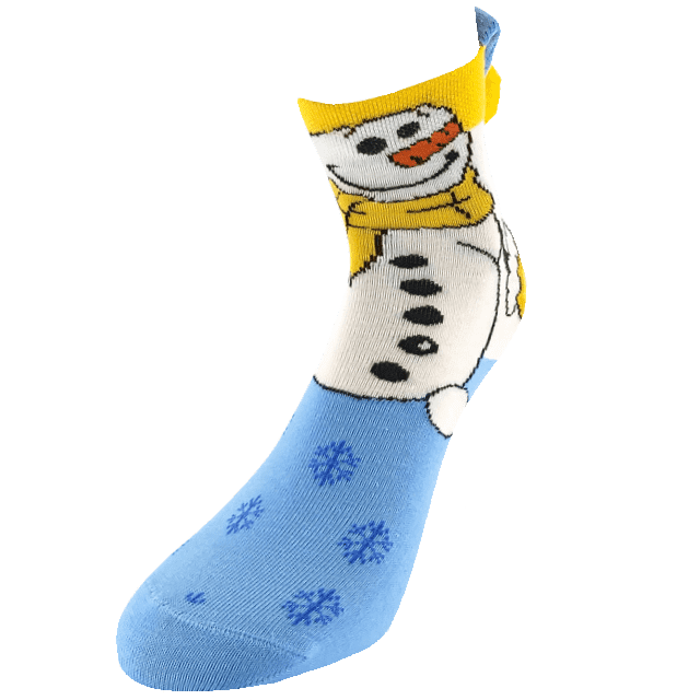 Șosete - Om de zapada
