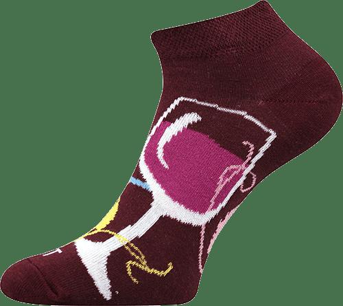 Ponožky - Víno nízké