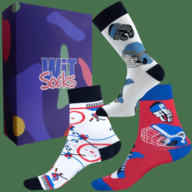Darčekový set - Ponožky Hokej