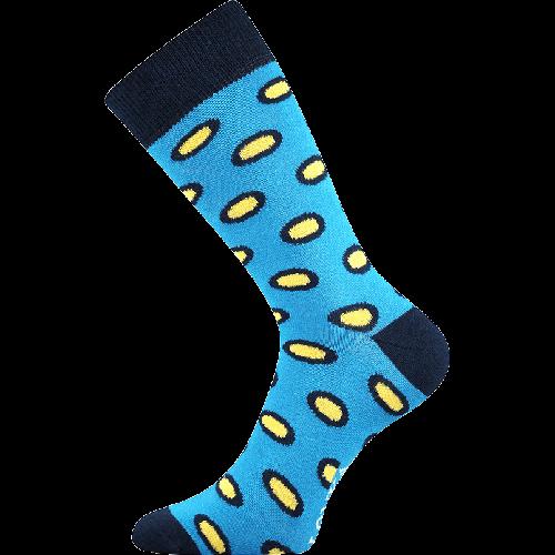 Socken - Tupfen - blau