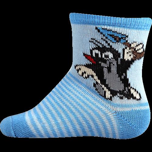 Socken - Maulwurf - blau