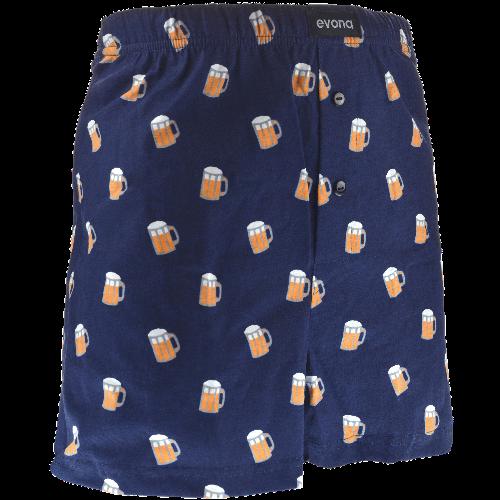 Pantaloni scurți - Bere - albastru închis