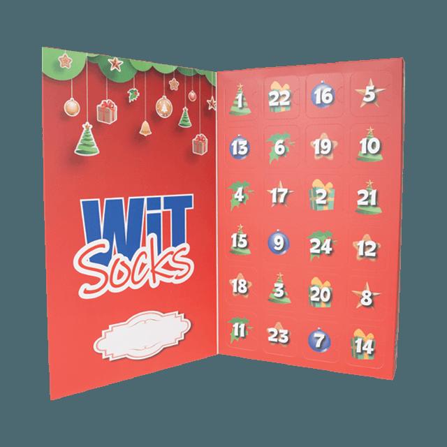 Kalendář - 12 párů ponožek - dámský main