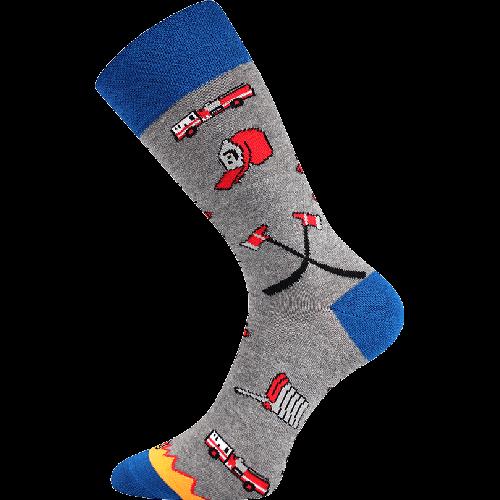 Socken - Feuerwehr