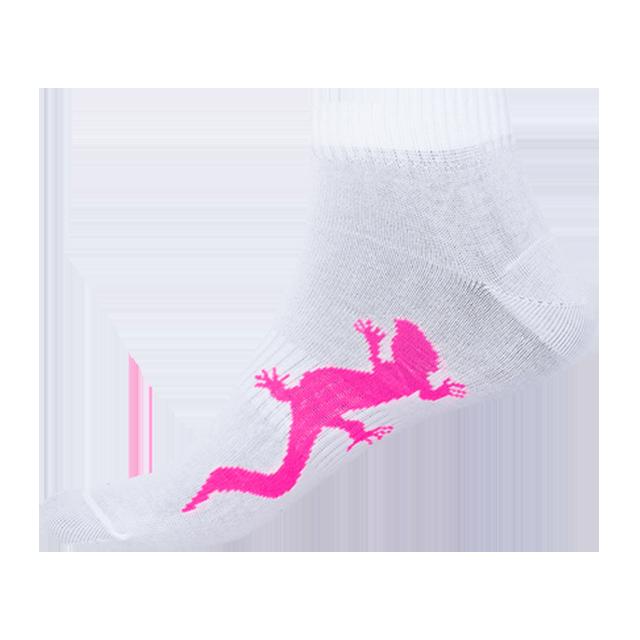 Ponožky - Jašterica - biela