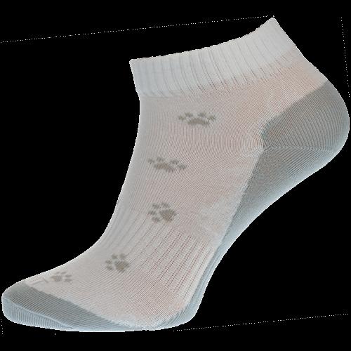 Ponožky - Tlapka šedá nízké